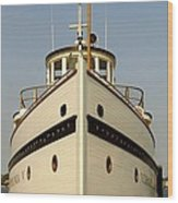 Seattlle's Own Virginia V. The Last Of The Mosquito Fleet Wood Print by Christine Burdine