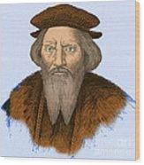 Sebastian Cabot, Italian Explorer Wood Print