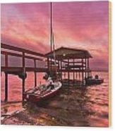 Sebring Sailing Wood Print