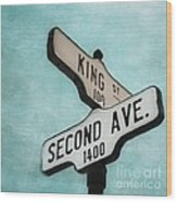 second Avenue 1400 Wood Print