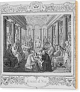 Second Council Of Nicaea Wood Print