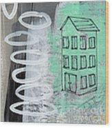 Secret Cottage Wood Print