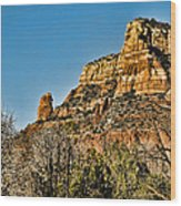 Sedona Arizona Xi Wood Print