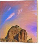 Sedona Glow Wood Print