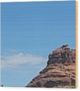 Sedona Rocks 2 Wood Print