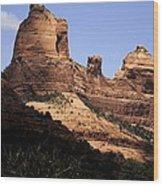 Sedona Arizona - Greeting Card Wood Print