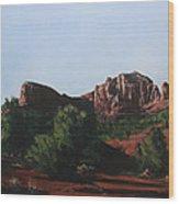 Sedona Summer Wood Print by Adam Smith