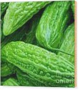 Seeing Green Wood Print