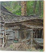 Seen Better Days Wood Print