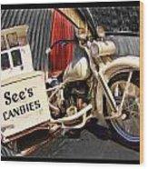 See's Motocycle Wood Print