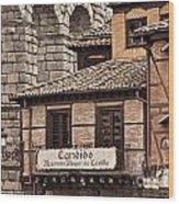 Segovia Spain Wood Print