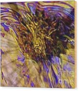 Seize The Day - Abstract Art Wood Print