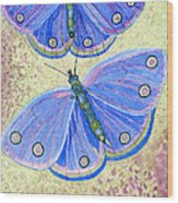 Self Expression Butterfly Wood Print