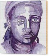 Self Portrait At 19 Wood Print