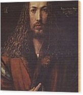 Self Portrait  Durer Wood Print