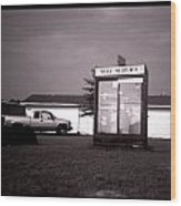Self Service- Winnsboro Road- La Hwy 15 Wood Print