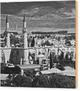 Selimiye Mosque Formerly St Sophia Cathedral In Northern Turkish Controlled Nicosia Cyprus Wood Print