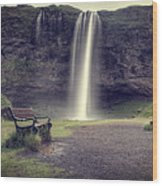 Seljalandsfoss Wood Print