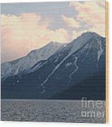 Selkirk Mountains Wood Print