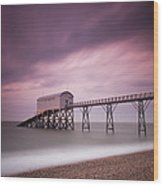 Selsey Lifeboat Station Wood Print