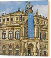 Semper Opera House Dresden Wood Print