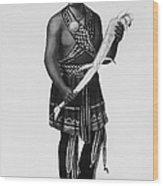 Seneca Man, 1851 Wood Print