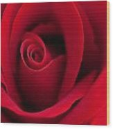 Sensual Red Wood Print