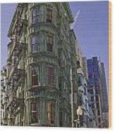 Sentinel Building - Columbus Tower American Zoetrope Wood Print