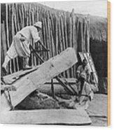 Seoul Korea - Men Sawing Lumber Wood Print