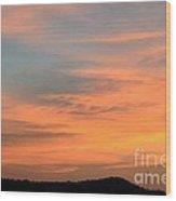 September 27 2012 Sunrise Wood Print