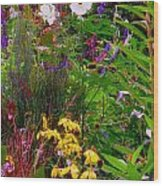 September Wildflowers Wood Print