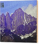 Sequoia  Wood Print