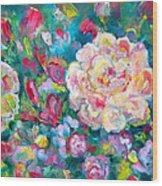 Serendipity Floral Wood Print
