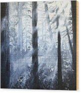 Serenity Wood Print by Jamil Alkhoury