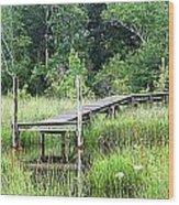 Serenity Pier Wood Print