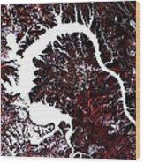 Dragon Lake  Wood Print