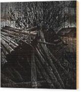 Settlers Start Wood Print
