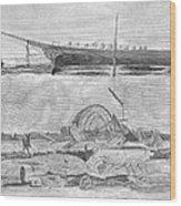Sevastopol: Diver, 1858 Wood Print
