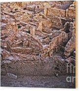 Seven Civilizations Wood Print