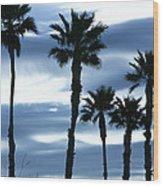 Seven Palms Wood Print by Gilbert Artiaga