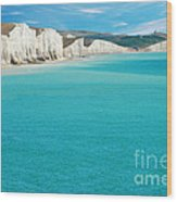 Seven Sisters England Wood Print by Michael Gray