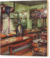 Sewing - Industrial - The Sweat Shop  Wood Print