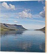 Seydisfjordur Fjord Wood Print