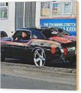 Sf Giants Muscle Car Wood Print