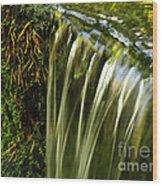 Shades Of Green Wood Print