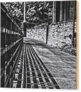 Shadow Walk Wood Print