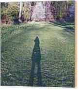 Shadows Long Wood Print