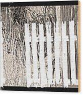Shadows On The American Dream Wood Print