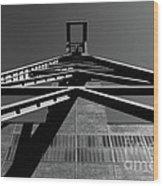 Shaft Tower Wood Print