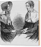 Shaker Women, 1875 Wood Print